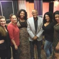 Photo Flash: Harry Belafonte Visits SISTAS: THE MUSICAL