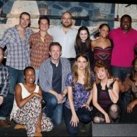 FREEZE FRAME: Cast of Broadway's VIOLET Meets the Press!