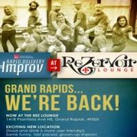 RAPID DELIVERY IMPROV to Perform at New Location