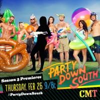 CMT to Premiere Third Season of PARTY DOWN SOUTH, 2/26