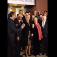 VIDEO: Tom Hanks, Emma Thompson, Julie Andrews, Dick Van Dyke Sing 'Let's Go Fly A Kite' at SAVING MR. BANKS Premiere
