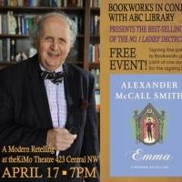 Bookworks Presents Alexander McCall Smith at the KiMo Theater