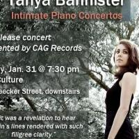BWW Reviews: TANYA BANNISTER, THE INTIMATE CONCERTOS