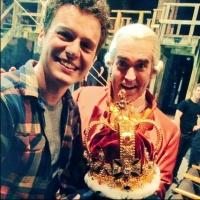 Jonathan Groff Takes Over as 'King George' in HAMILTON Tonight
