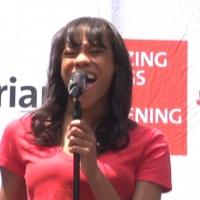 BWW TV: Cast of LES MISERABLES Dreams a Dream in Bryant Park!