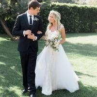 Photo: Ashley Tisdale Ties the Knot with Fiance Christopher French