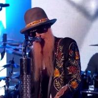 VIDEO: Legendary Rockers ZZ Top Perform 3-Song Set on JIMMY KIMMEL