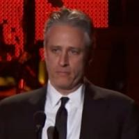 Jon Stewart Hosts 2013 MUSICARES Gala, Airing on AXS TV, 3/30