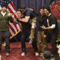 Photo: Channing Tatum, Adam Rodriguez  & Nick Zano Return from First USO Tour to Afghanistan
