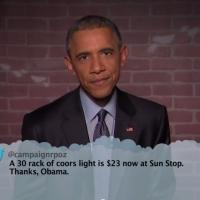 VIDEO: President Obama Reads #MeanTweets on JIMMY KIMMEL