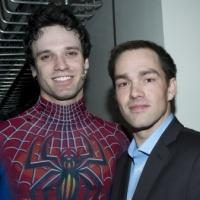 Photo Flash: SPIDER-MAN Cast Welcomes Staff Sergeant Clinton L. Romesha