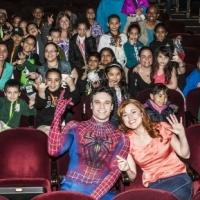 Photo Coverage: Students from PS 69 Journey Prep Visit SPIDER-MAN