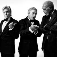De Niro, Douglas, Freeman & Kline Grace Cover Of AARP The Magazine