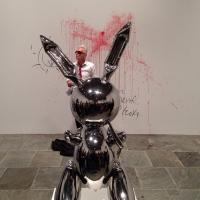 Canadian Blood Artist Taken Into Custody and Evaluated for Vandalizing Exhibit at Whitney Museum