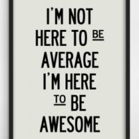 Fitness Tip of the Day: Don't Be Average