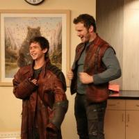 Chris Pratt Pays Visit to LA Children's Hospital Dressed as 'GUARDIANS' Character