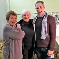 Photo Flash: Olympia Dukakis Visits WOMEN OF WILL Off-Broadway
