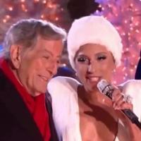VIDEO: Lady Gaga & Tony Bennett Sing 'Winter Wonderland' at CHRISTMAS IN ROCKEFELLER CENTER