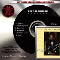 Audio Fidelity to George Benson's 'Breezin' On Multichannel 5.1-Surround Sound Hybrid SACD