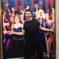 Photo Flash: SO YOU THINK YOU CAN DANCE Winner Ricky Ubeda Visits PIPPIN on Broadway