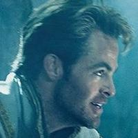 Chris Pine In New 'Beautiful Young Woman' INTO THE WOODS Social Media Image