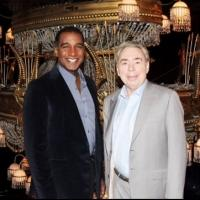 Photo Flash: Andrew Lloyd Webber & Norm Lewis Prep for PHANTOM Debut!