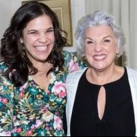 Exclusive Photo Coverage: Lindsay Mendez Visits Sheryl Kaller & Tyne Daly at MOTHERS AND SONS