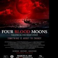 FOUR BLOOD MOONS Coming to Theatrical One Night Event