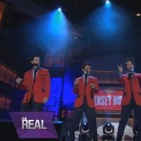 Sneak Peek - Cast of Broadway's JERSEY BOYS Performs on 'The Real' Today!