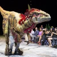 Photo Flash: WALKING WITH DINOSAURS Struts the Catwalk with 'Dinosaur Feathered Fashion Show'