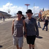 Photo Flash: Sirs Patrick Stewart and Ian McKellen Tweet NYC Photos; Announce Benefit Auction