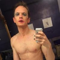 Photo Flash: HEDWIG's Neil Patrick Harris Tweets Before- and After-Show Selfies - Sans Clothes!