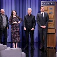 VIDEO: Michael Douglas, Kat Dennings & Jon Cryer Play Charades on TONIGHT