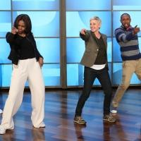 VIDEO: Sneak Peek - Michelle Obama & ELLEN Groove to Bruno Mars' 'Uptown Funk'