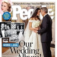 Photo: First Look - George Clooney & Amal Alamuddin's Wedding Photo!