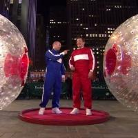 VIDEO: Jason Statham Outpaces Jimmy Fallon in Hamster Ball Race on THE TONIGHT SHOW