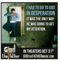 Tom Benedict Knights Stars in New Biopic GOD THE FATHER, 10/31