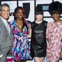 Photo Flash: MOTOWN's Valisia LeKae Visits 'Watch What Happens'