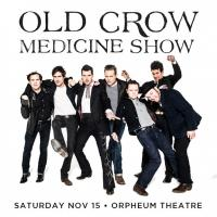 Old Crow Medicine Show at The Orpheum on Sale 9/12