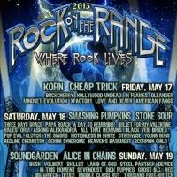Performance Times Confirmed For ROCK ON THE RANGE 2013
