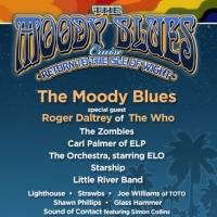 Roger Daltry & More Set for THE MOODY BLUES CRUISE II; Full Lineup Announced