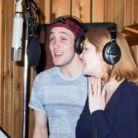 Photo Coverage: In the Recording Studio with JOHN & JEN's Kate Baldwin and Conor Ryan