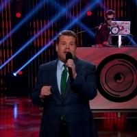VIDEO: JAMES CORDEN Raps His Monologue with Help from Mark Ronson