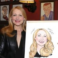 Photo Coverage: THE ELEPHANT MAN's Patricia Clarkson & Alessandro Nivola Get Caricatures at Sardi's!