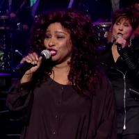 VIDEO: Chaka Khan Performs Pop Classic 'It's Raining Men' on LETTERMAN