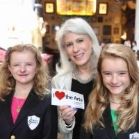 Photo Coverage: The Shapiro Sisters Stop by BACKSTAGE WITH PETER LEDONNE