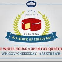 VIDEO: White House Takes Cue From THE WEST WING, to Host First-Ever Virtual BIG BLOCK OF CHEESE DAY