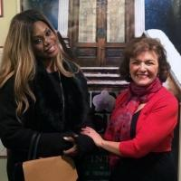 Photo Flash: Laverne Cox, Joy Behar Visit SNOW ORCHID Off-Broadway!