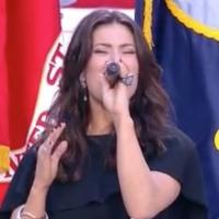 STAGE TUBE: Watch Idina Menzel's AMAZING National Anthem at the Super Bowl!