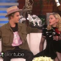 VIDEO: Justin Bieber & Madonna Play 'Never Have I Ever' on ELLEN!